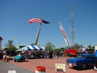 What a gorgeous day for our 8th Annual Car Show, Poker Run, Swap Meet, and Yard Sale!!!